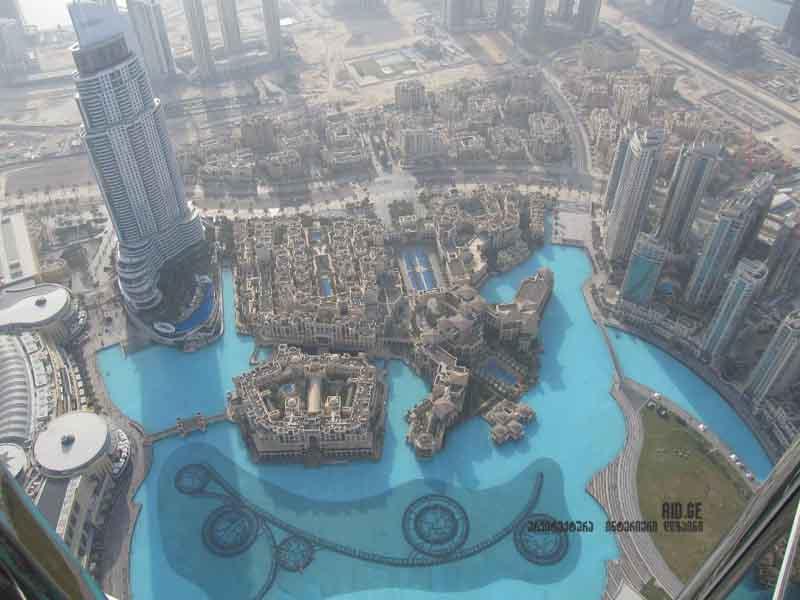 rogor shendeboda Burj khalifa