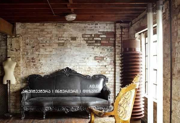 grabjis stili interiershi