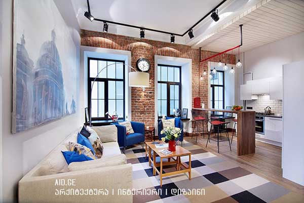 loft - saintereso interieris dizaini