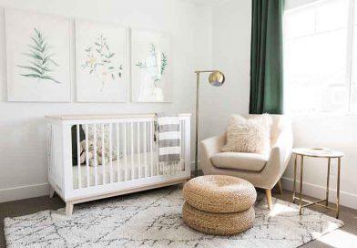 ბავშვის ოთახის მოწყობა