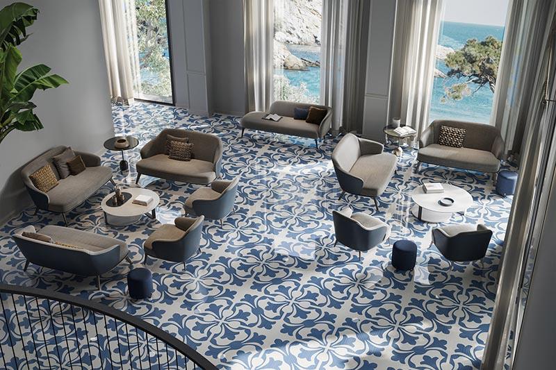 Ceramiche Refin's tiles