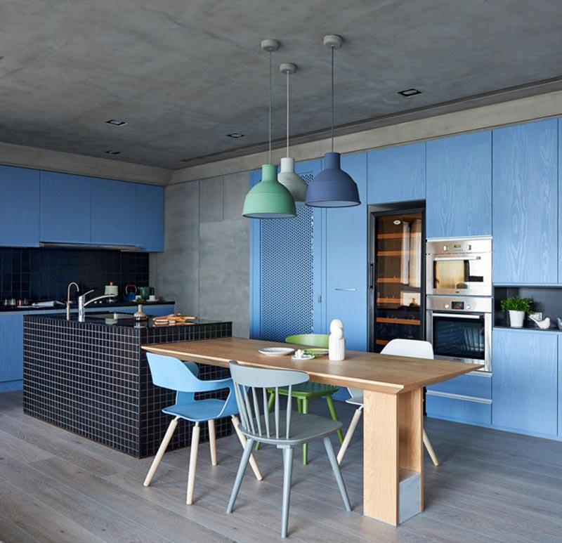 ცისფერი სამზარეულო